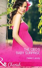 CEO's Baby Surprise (Mills & Boon Cherish) (The Prestons of Crystal Point, Book 1)