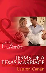 Terms of a Texas Marriage (Mills & Boon Desire) af Lauren Canan