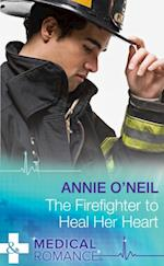 Firefighter to Heal Her Heart (Mills & Boon Medical) (Army Docs, Book 2) af Annie O'Neil