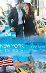 One Night in New York (Mills & Boon Medical) (New York City Docs, Book 4)
