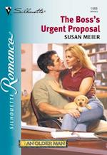 Boss's Urgent Proposal (Mills & Boon Silhouette)