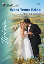 West Texas Bride af Madeline Baker
