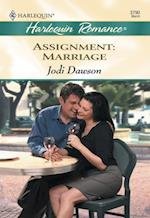 Assignment: Marriage (Mills & Boon Cherish)