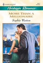 More Than A Millionaire (Mills & Boon Cherish)