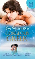 One Night with a Gorgeous Greek: Doukakis's Apprentice / Not Just the Greek's Wife / After the Greek Affair (Mills & Boon M&B) af Lucy Monroe