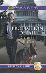 Protection Detail (Mills & Boon Love Inspired Suspense) (Capitol K-9 Unit, Book 1)