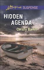 Hidden Agenda (Mills & Boon Love Inspired Suspense)