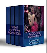 Modern Romance March 2015 Collection 2: The Real Romero / His Defiant Desert Queen / Prince Nadir's Secret Heir / The Tycoon's Stowaway (Mills & Boon e-Book Collections) af Jane Porter