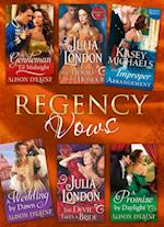 Regency Vows: A Gentleman 'Til Midnight / The Trouble with Honour / An Improper Arrangement / A Wedding By Dawn / The Devil Takes a Bride / A Promise by Daylight (Mills & Boon e-Book Collections) af Julia London