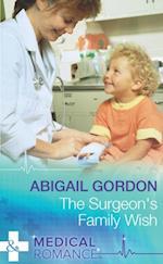 Surgeon's Family Wish (Mills & Boon Medical)