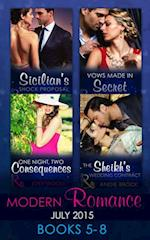 Modern Romance July 2015 Books 5-8 af Andie Brock