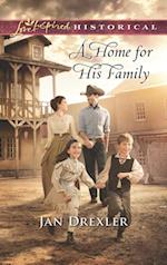 Home for His Family (Mills & Boon Love Inspired Historical)