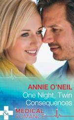 One Night, Twin Consequences (Mills & Boon Medical) (The Monticello Baby Miracles, Book 1)