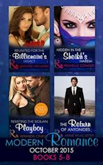 Modern Romance October 2015 Books 5-8 af Amanda Cinelli