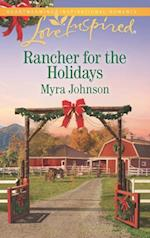 Rancher For The Holidays (Mills & Boon Love Inspired) af Myra Johnson