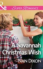 Savannah Christmas Wish (Mills & Boon Superromance) (Fitzgerald House, Book 2) af Nan Dixon
