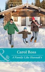 Family Like Hannah's af Carol Ross