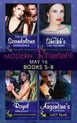 Modern Romance May 2016 Books 5-8 af Jennifer Hayward