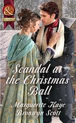 Scandal At The Christmas Ball: A Governess for Christmas / Dancing with the Duke's Heir (Mills & Boon Historical) af Bronwyn Scott, Marguerite Kaye