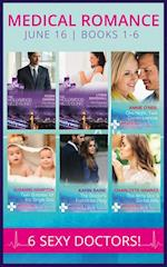 Medical Romance June 2016 Books 1-6: The Prince and the Midwife / His Pregnant Sleeping Beauty / One Night, Twin Consequences / Twin Surprise for the Single Doc / The Doctor's Forbidden Fling / The Army Doc's Secret Wife (Mills & Boon e-Book Collections)