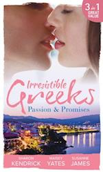 Irresistible Greeks: Passion and Promises: The Greek's Marriage Bargain / A Royal World Apart / The Theotokis Inheritance (Mills & Boon M&B) af Susanne James