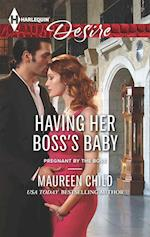 Having Her Boss's Baby (Mills & Boon M&B) (Positively Pregnant, Book 1)
