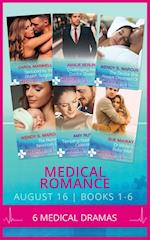 Medical Romance August 2016 Books 1-6: Seduced by the Sheikh Surgeon / Challenging the Doctor Sheikh / The Doctor She Always Dreamed Of / The Nurse's Newborn Gift / Tempting Nashville's Celebrity Doc / Dr White's Baby Wish (Mills & Boon e-Book Collections) (Desert Prince Docs, Book 1)