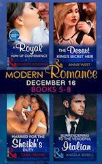 Modern Romance December 2016 Books 5-8 af Annie West, Sharon Kendrick, Tara Pammi