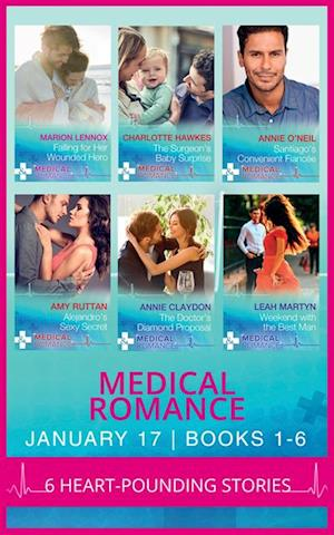 Medical Romance January 2017 Books 1 -6 af Amy Ruttan, Annie Claydon, Leah Martyn