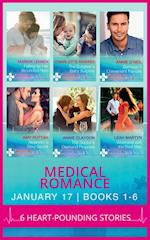 Medical Romance January 2017 Books 1 -6