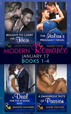 Modern Romance January 2017 Books 1 - 4 af Jane Porter, Anne Mather, Maisey Yates