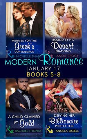 Modern Romance January 2017 Books 5 - 8 af Rachael Thomas, Michelle Smart, Andie Brock