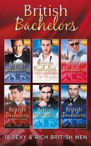 British Bachelors Collection af Cathy Williams, Nina Harrington, Elizabeth Power