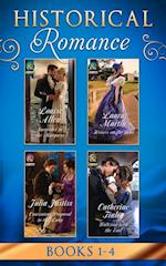 Historical Romance Collection: Book 1-4 March af Julia Justiss, Laura Martin, Louise Allen