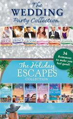 Wedding Party And Holiday Escapes Ultimate Collection (Mills & Boon e-Book Collections) (The West Family, Book 4)