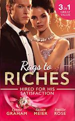 Rags To Riches: Hired For His Satisfaction: A Ring to Secure His Heir / Nanny for the Millionaire's Twins / The Ties that Bind (Mills & Boon M&B) af Lynne Graham, Emilie Rose, Susan Meier