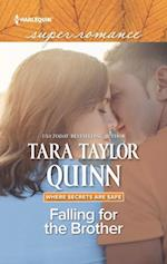 Falling For The Brother (Mills & Boon Superromance) (Where Secrets are Safe, Book 14)