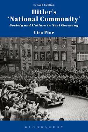 Bog, hardback Hitler's 'National Community' af Dr. Lisa Pine