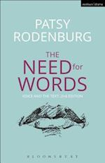 The Need for Words (Performance Books)