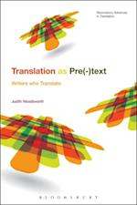 Telling the Story of Translation (Bloomsbury Advances in Translation)