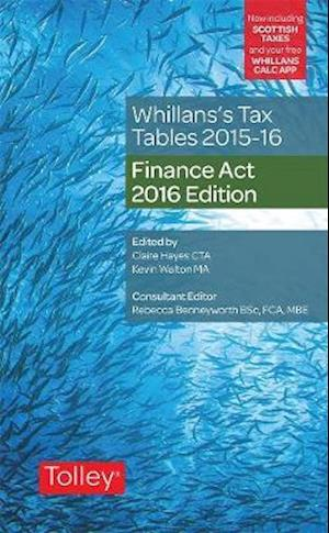 Bog, paperback Whillans's Tax Tables 2016-17 (Finance Act edition) af Claire Hayes