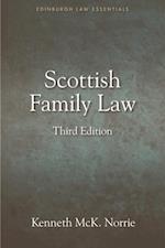 Scottish Family Law (Edinburgh Law Essentials)