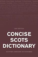 Concise Scots Dictionary (Scots Language Dictionaries)