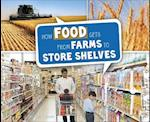 How Food Gets from Farms to Shop Shelves (Pebble Plus Here to There)