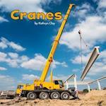Cranes (Little Pebble Construction Vehicles at Work)