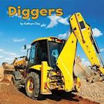 Diggers (Little Pebble Construction Vehicles at Work)