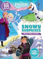 Disney Frozen Snow Surprises (Draw Color Create)