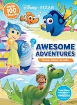Disney Pixar Awesome Adventures (Draw Color Create)
