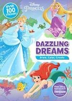 Disney Princess Dazzling Dreams (Draw Color Create)