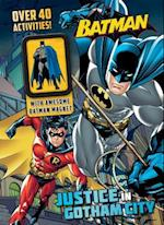Batman Justice in Gotham City (Activity Book with Magnet)